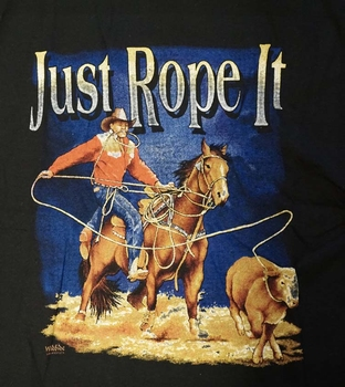 """T-shirt """" Just rope it """""""
