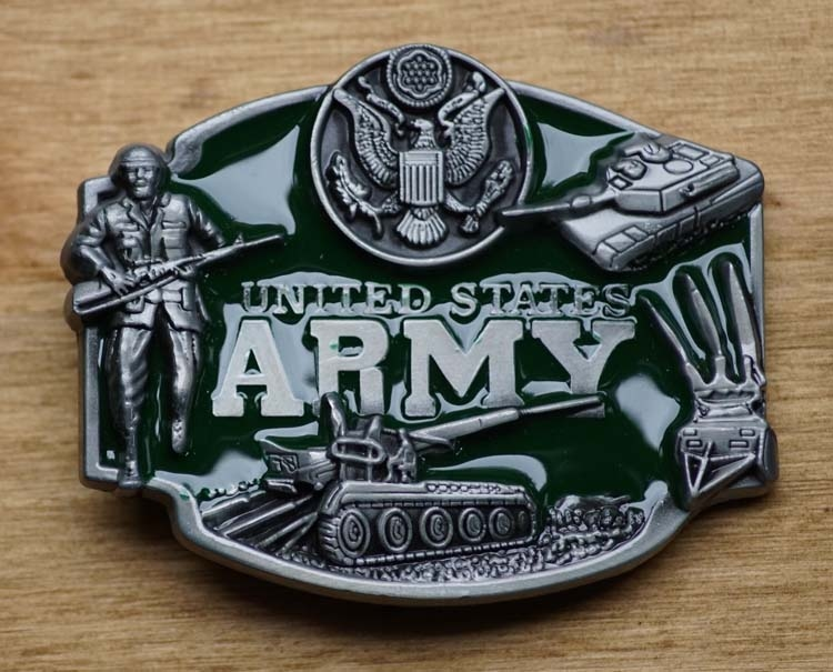 """Buckle  """"  United States    Army  """""""