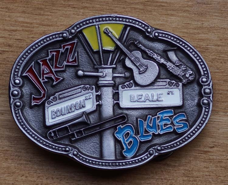 """Country Buckle  """" Jazz,  Blues """""""