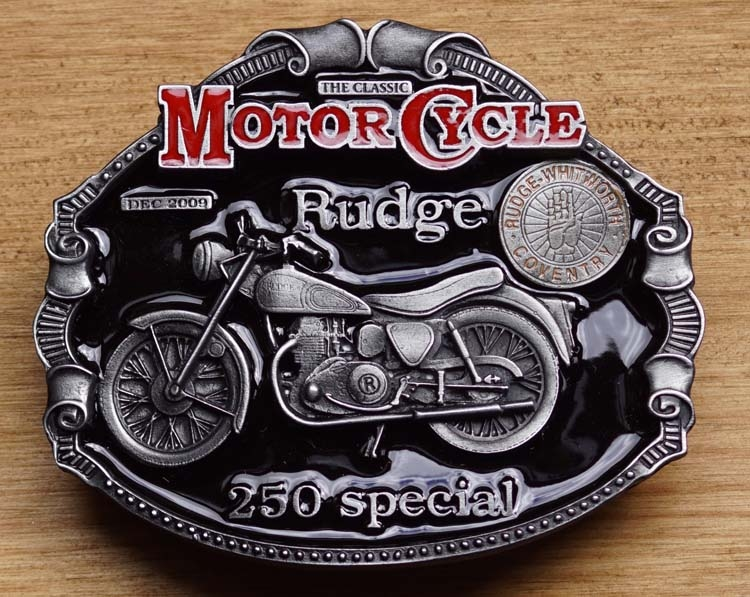 """Motor cylce buckle  """" Rudge 250 special """""""