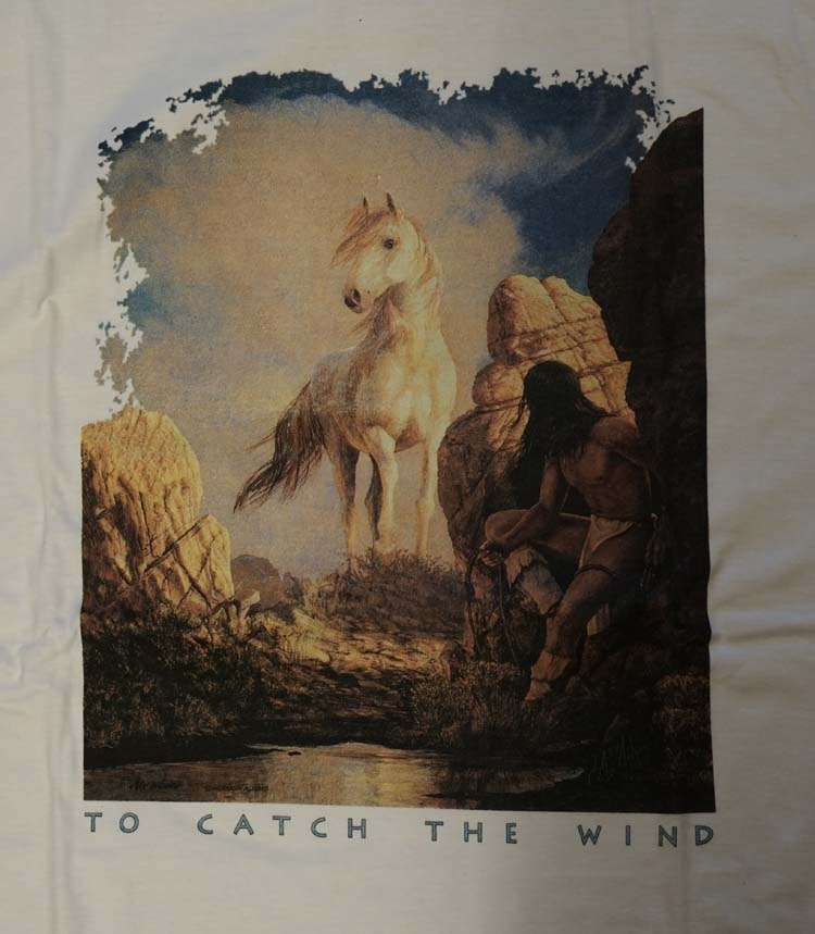 """T-shirt  """" To catch the wind """""""